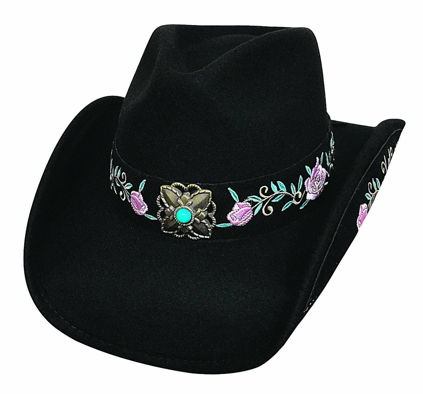 Bullhide Dance In The Dark Run A Muck Collection Felt Hat