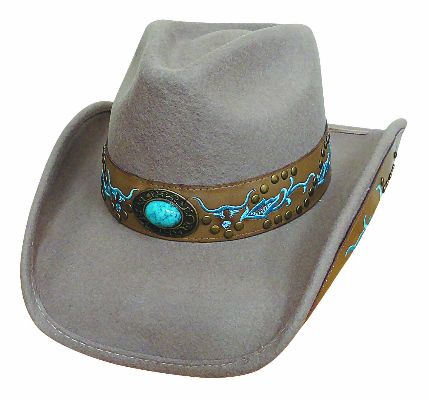 Bullhide Havasu Creek Run A Muck Collection Felt Hat