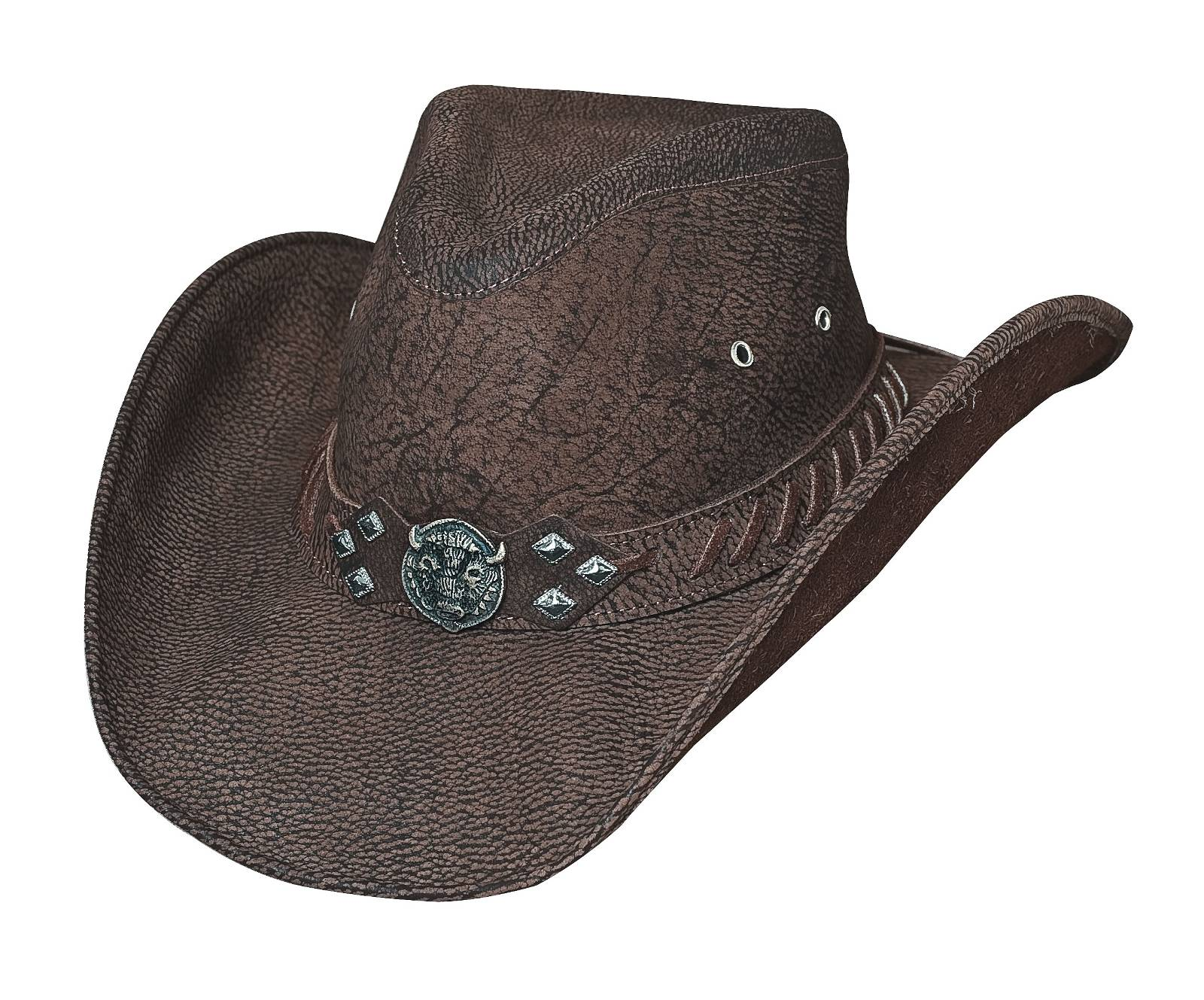 Bullhide American Buffalo Down Under Leather Hat