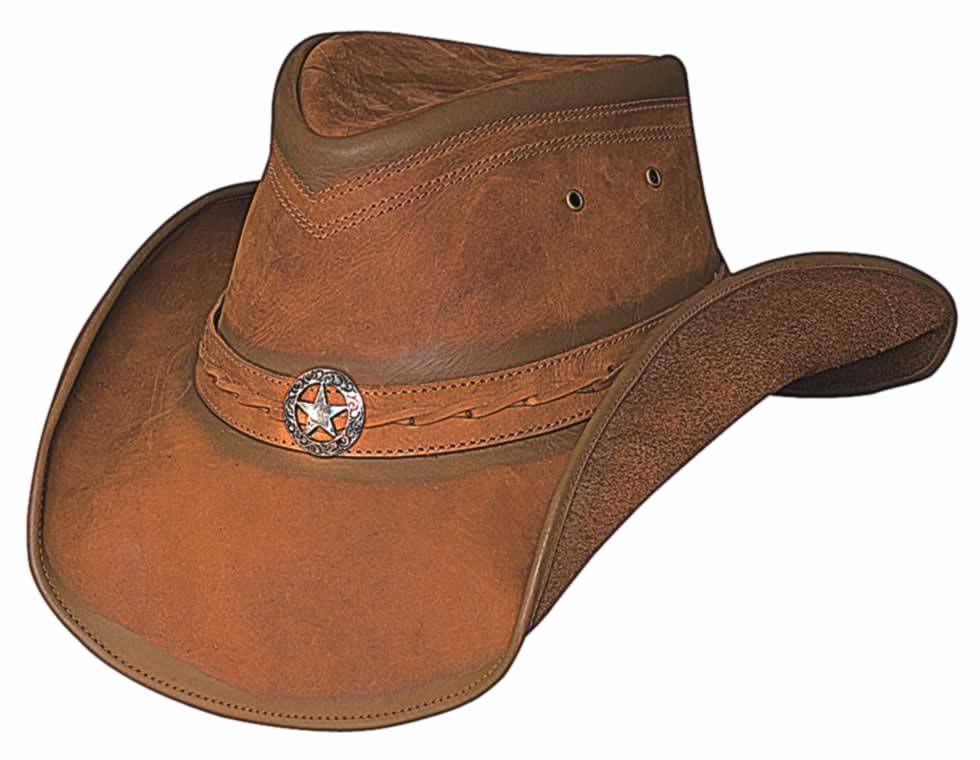 Bullhide Cooper Creek Down Under Leather Hat