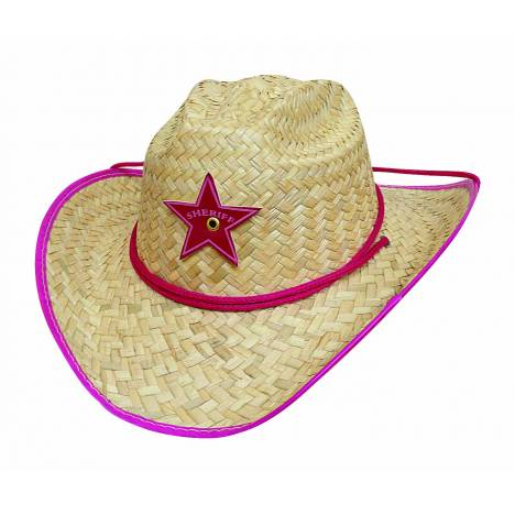Bullhide Rodeo Party Youth Straw Hat