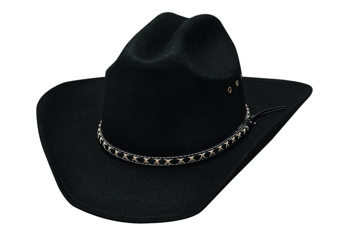 Bullhide Cowboy Hero Youth Felt Hat