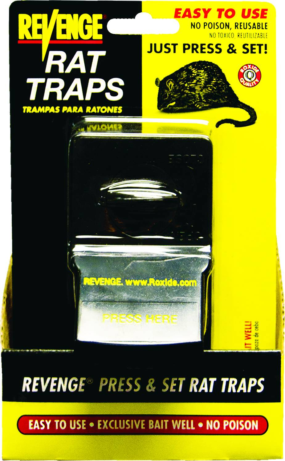 Revenge Press and Set Rat Trap