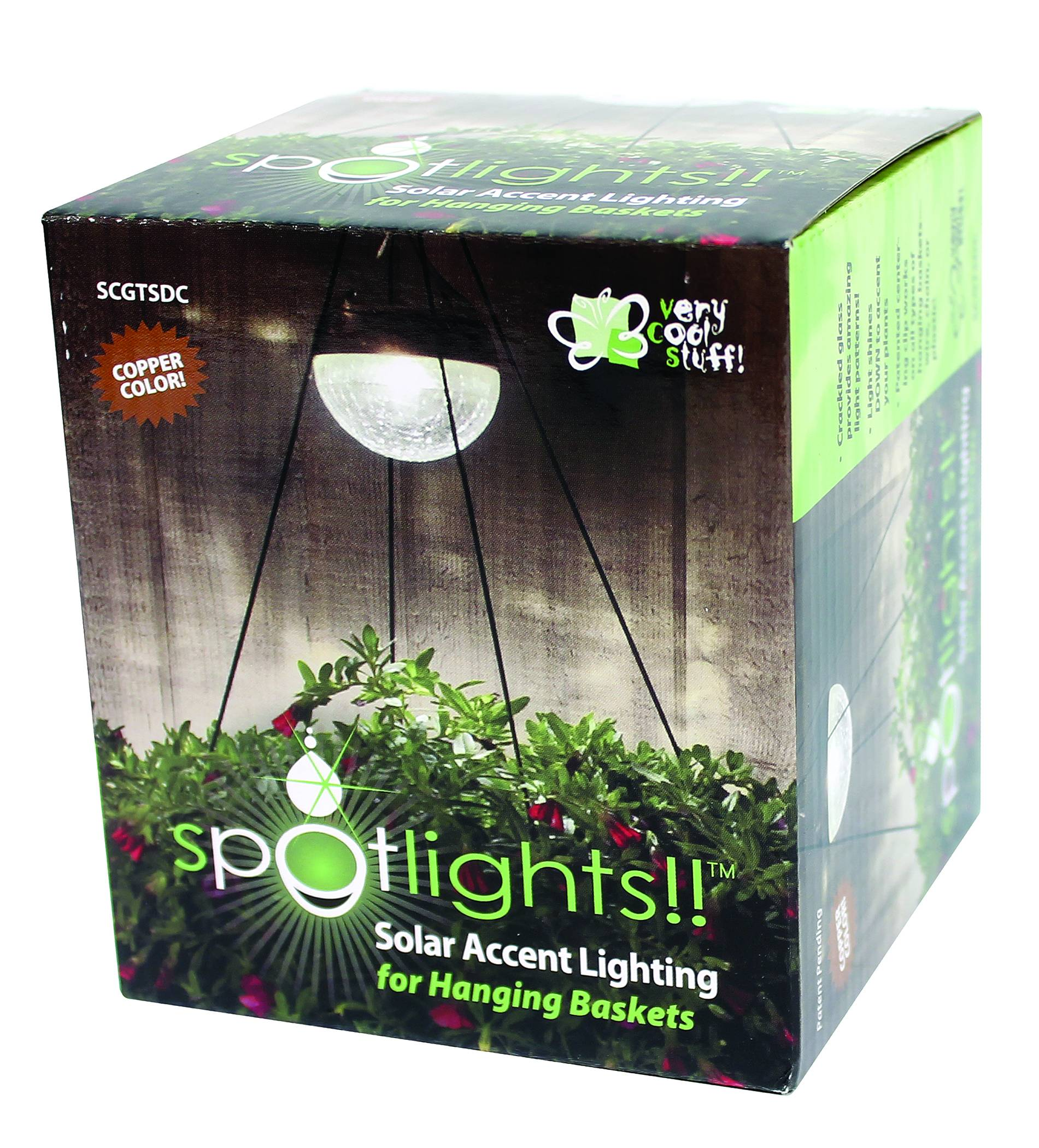 Spotlights Solar Lighting For Hanging Baskets