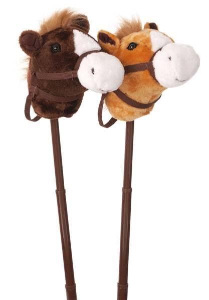 Gift Corral Stick Horse with Adjustable Stick