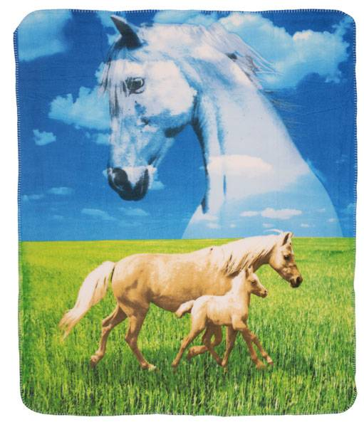 Gift Corral Horse Throw Blanket