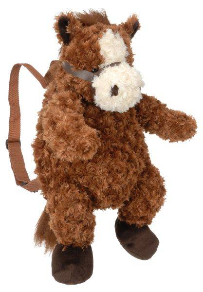 Gift Corral Plush Horse Backpack