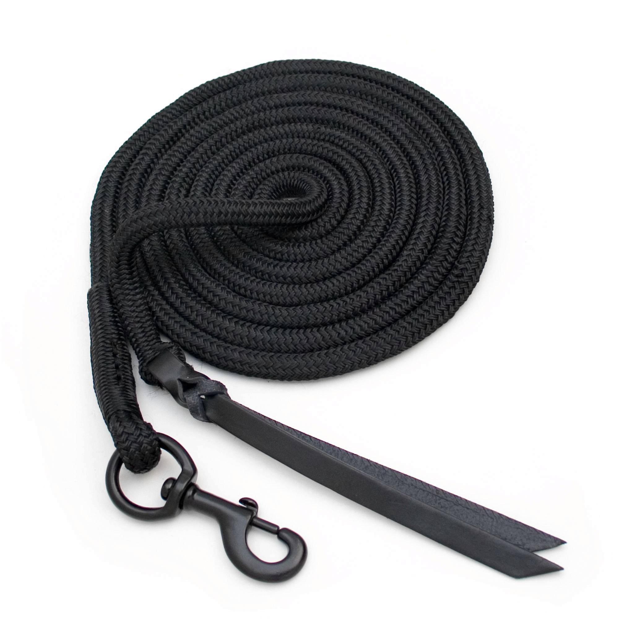 Blocker Lead Rope with Double Leather Popper