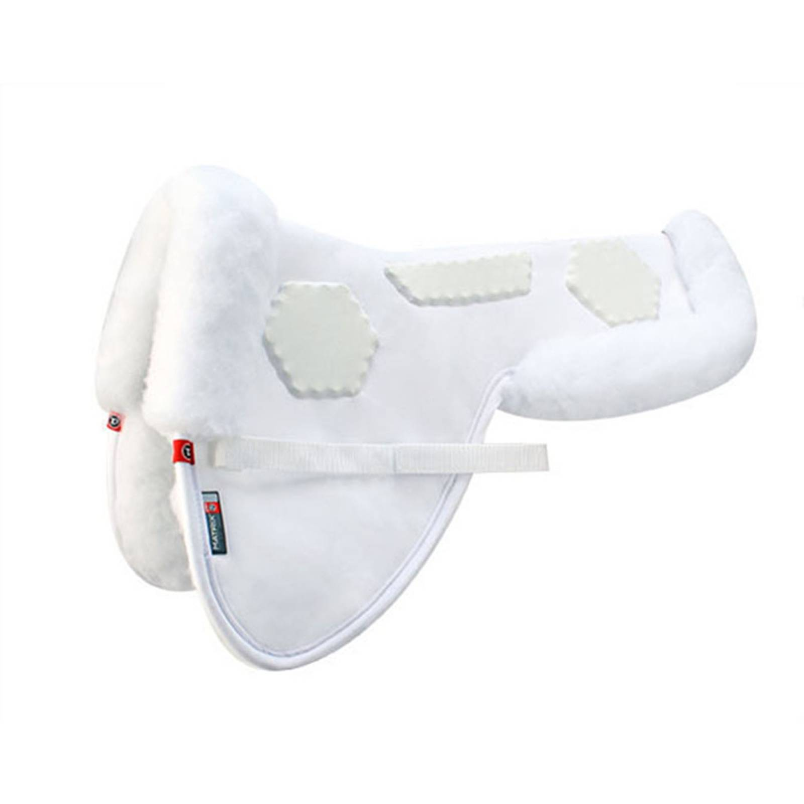 Matrix T3 Ergonomic CoolBack Hex Pro-Impact Half Pad