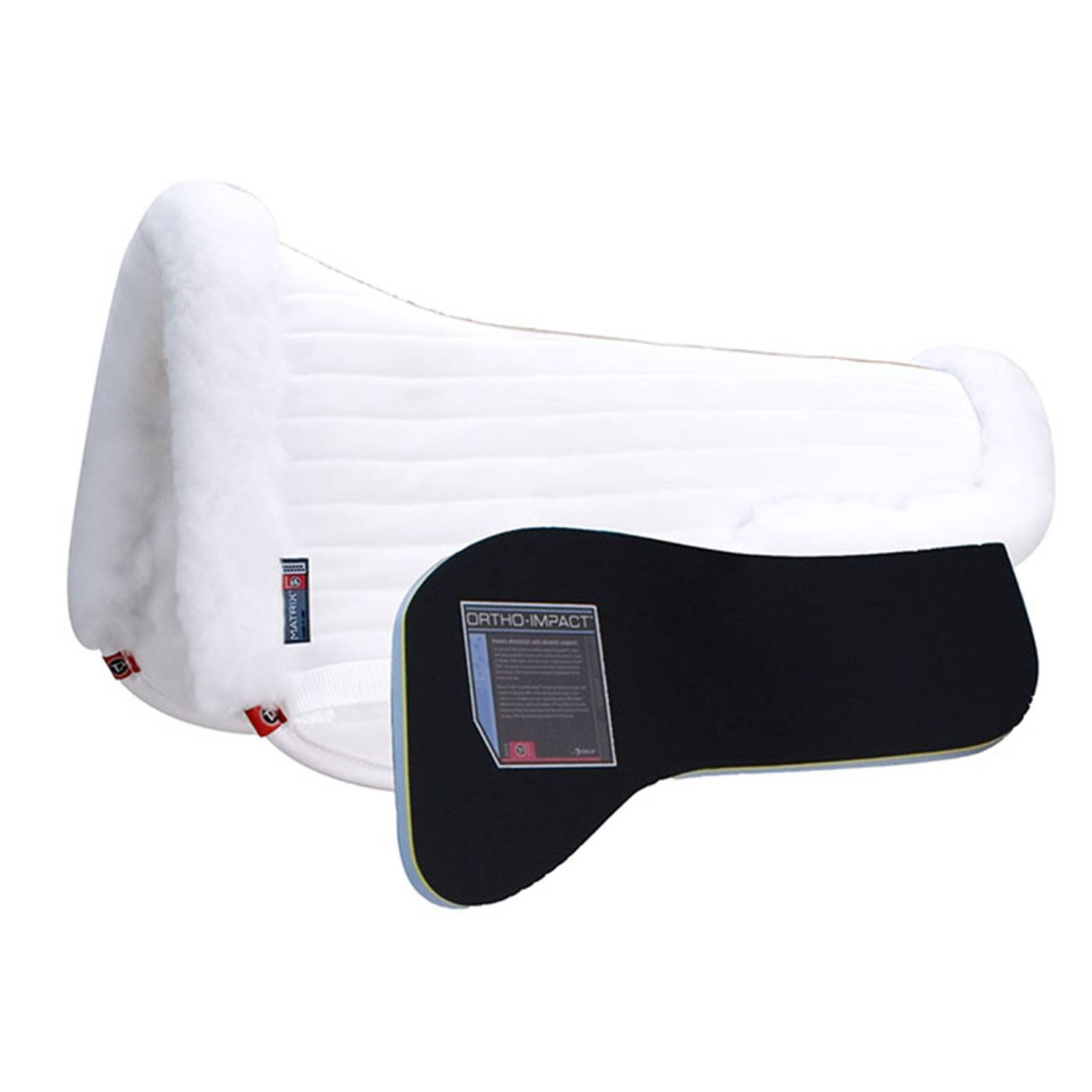 Matrix T3 Traditional CoolBack Half Pad with Ortho-Impact Inserts