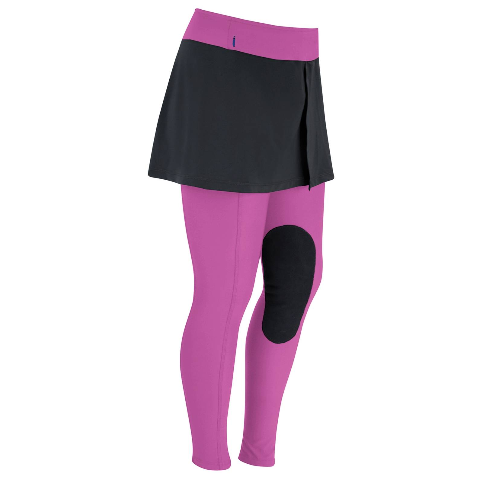 OPEN BOX - Irideon Kids' Issential Miniature Riding Tights - X-Large - Razzle Dazzle