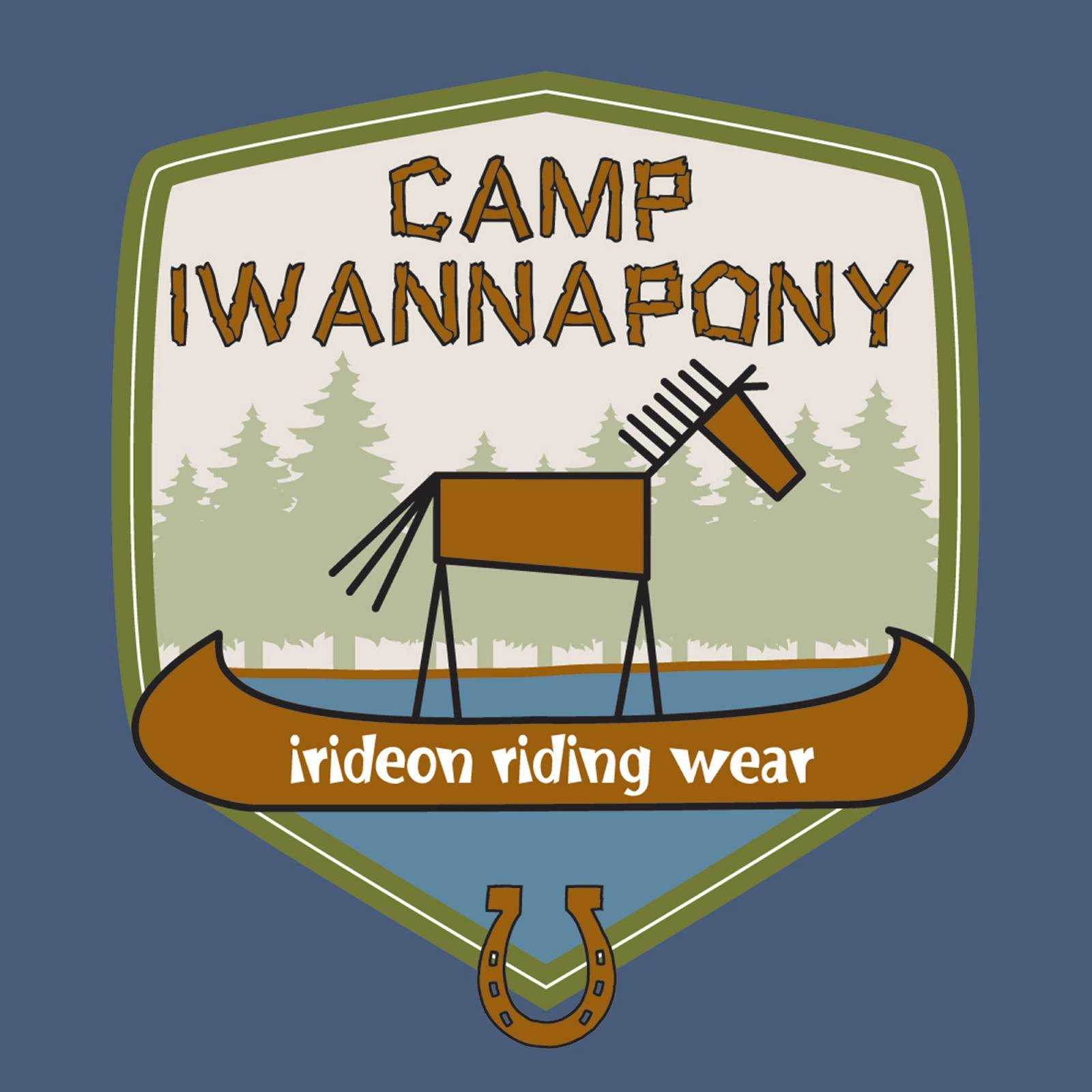 Irideon Kids' Long Sleeve Tee - Camp Iwannapony