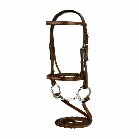 Toklat Silverleaf Fancy Bridle with Matching Reins