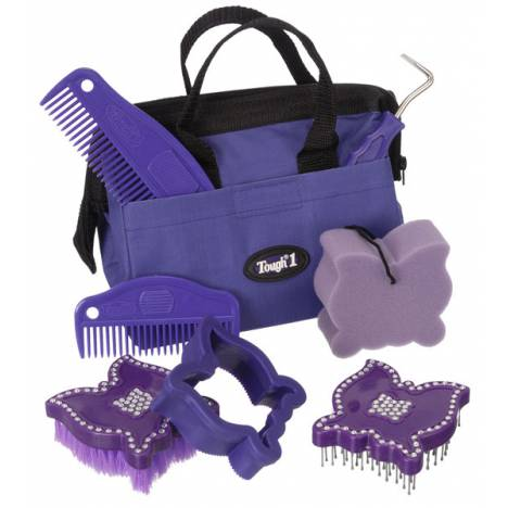 Tough-1 Crystal Butterfly Grooming Kit - 8 Piece