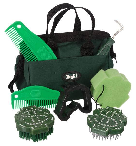 Tough-1 Crystal Dollar Signs Grooming Kit - 8 Piece