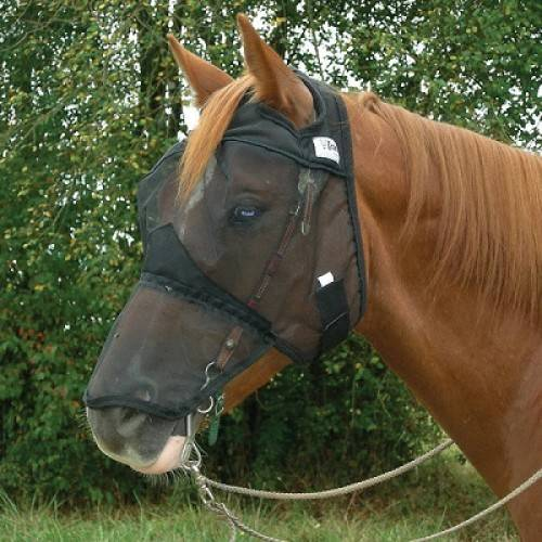 CASHEL Quiet Ride Fly Mask - Long Nose