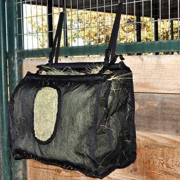 CASHEL Hay Bag Mesh Large Black