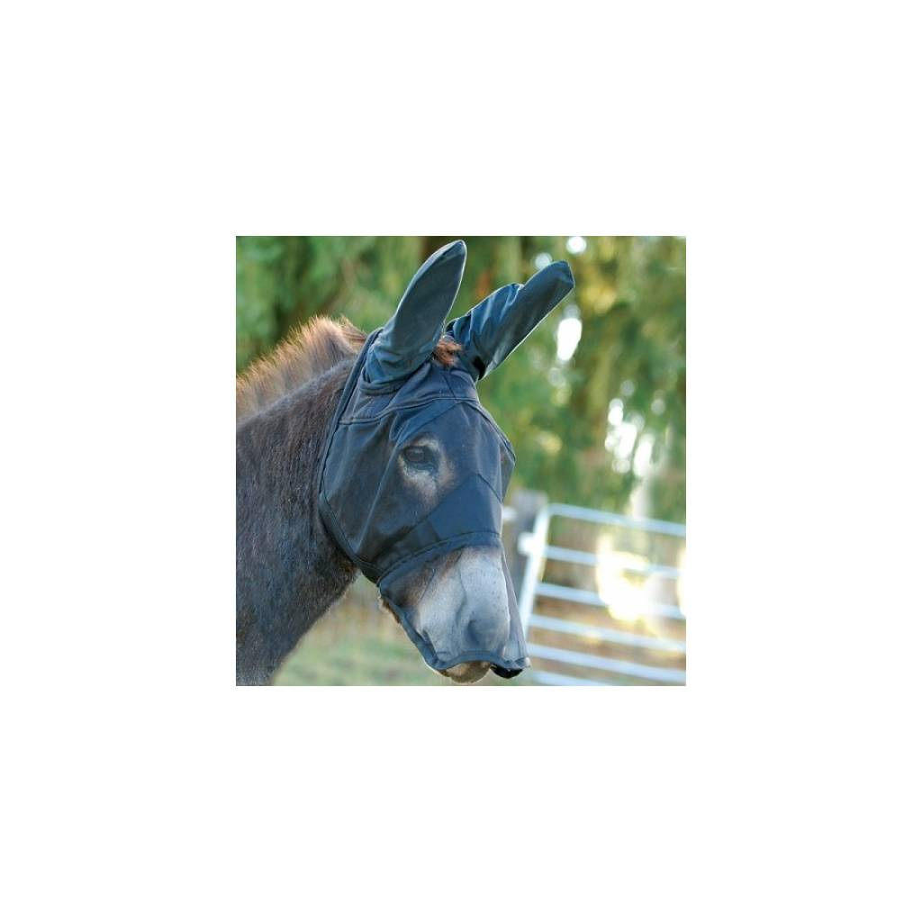 CASHEL Quiet Ride Fly Mask Long Nose With Mule Ears
