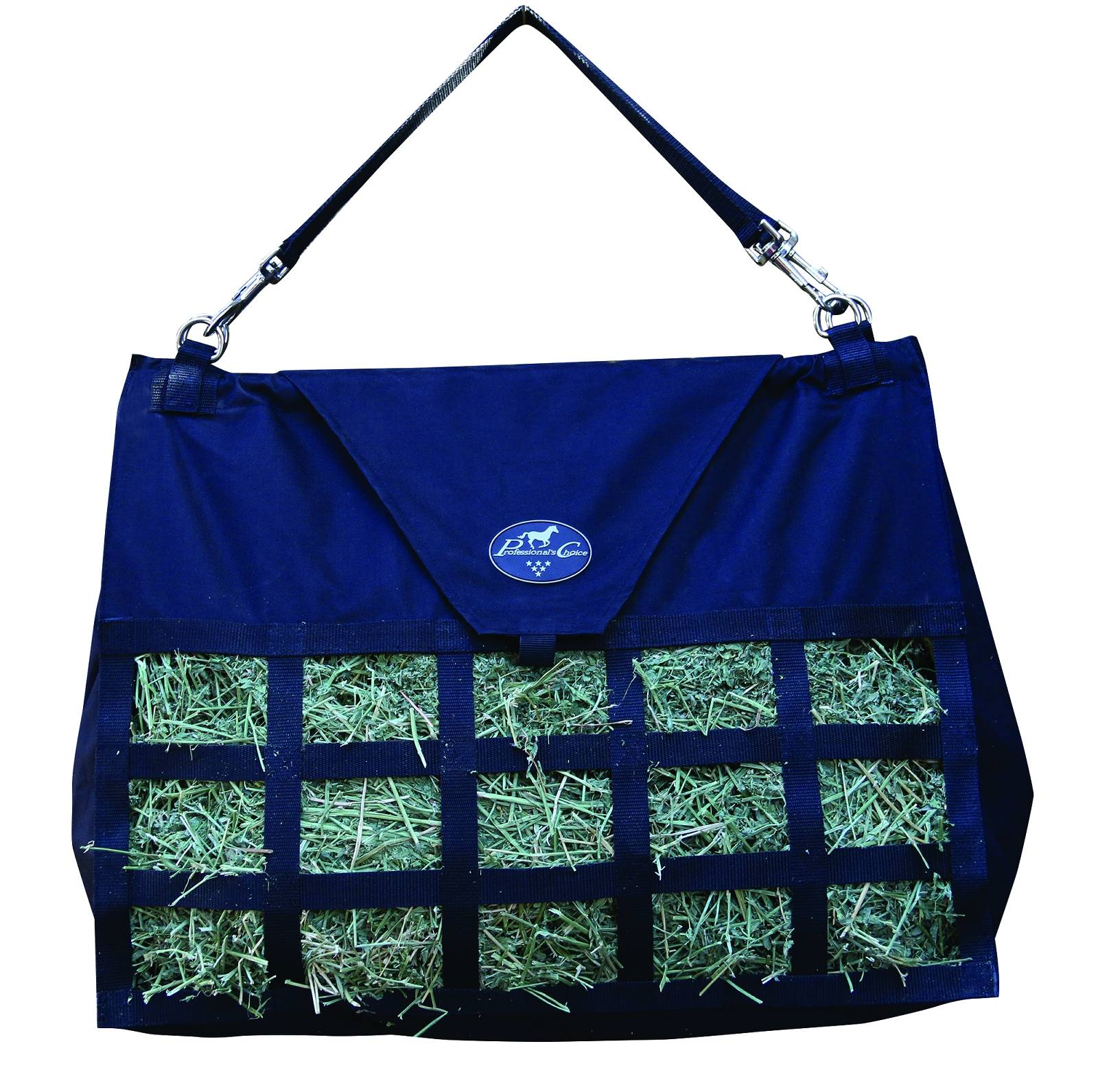 Professionals Choice Med Feed Hay Bag - Black