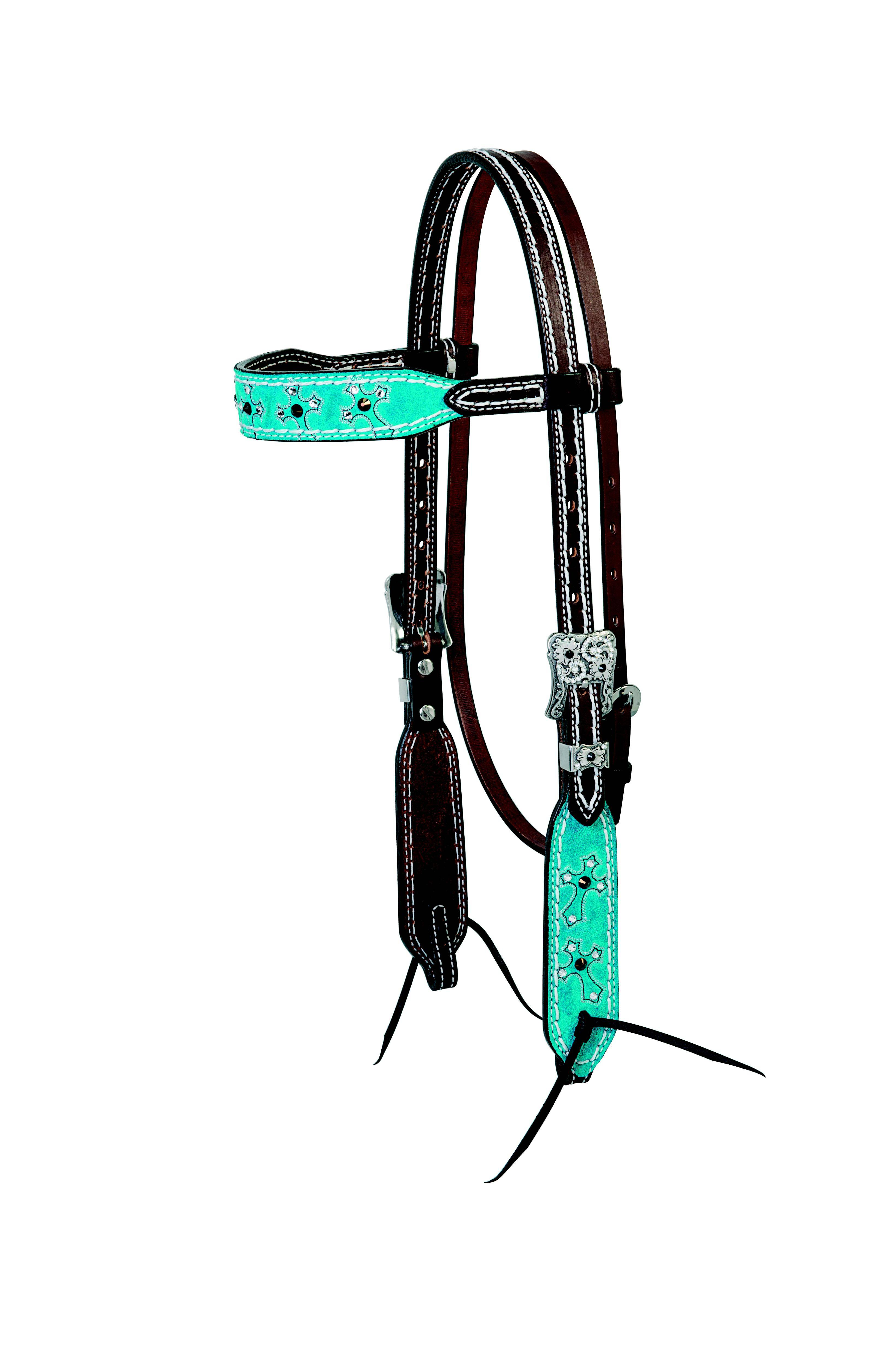 Weaver Memphis Browband Headstall