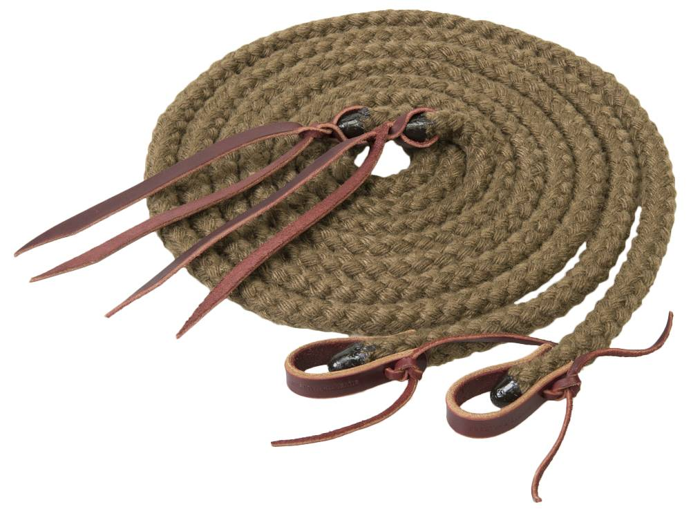 Weaver Silvertip Hollow Braid Roper Rein