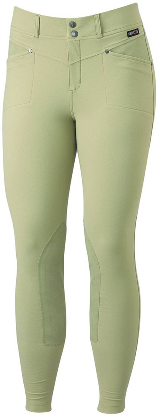 Kerrits Cross-Over Kneepatch Breech