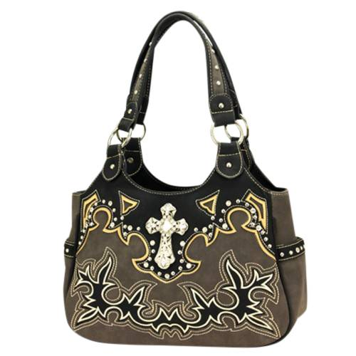Montana West Spiritual Collection Double Strap Handbag