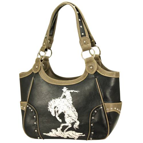 Montana West Cowgirl Collection Western Cowboy Handbag