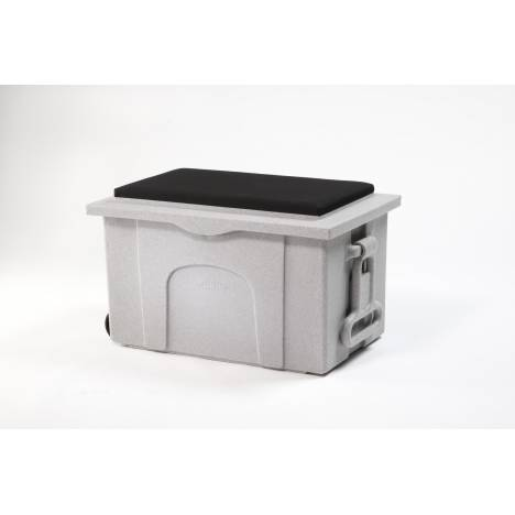 BURLINGHAM SPORTS Deluxe Sport Tack Trunk with Padded Seat