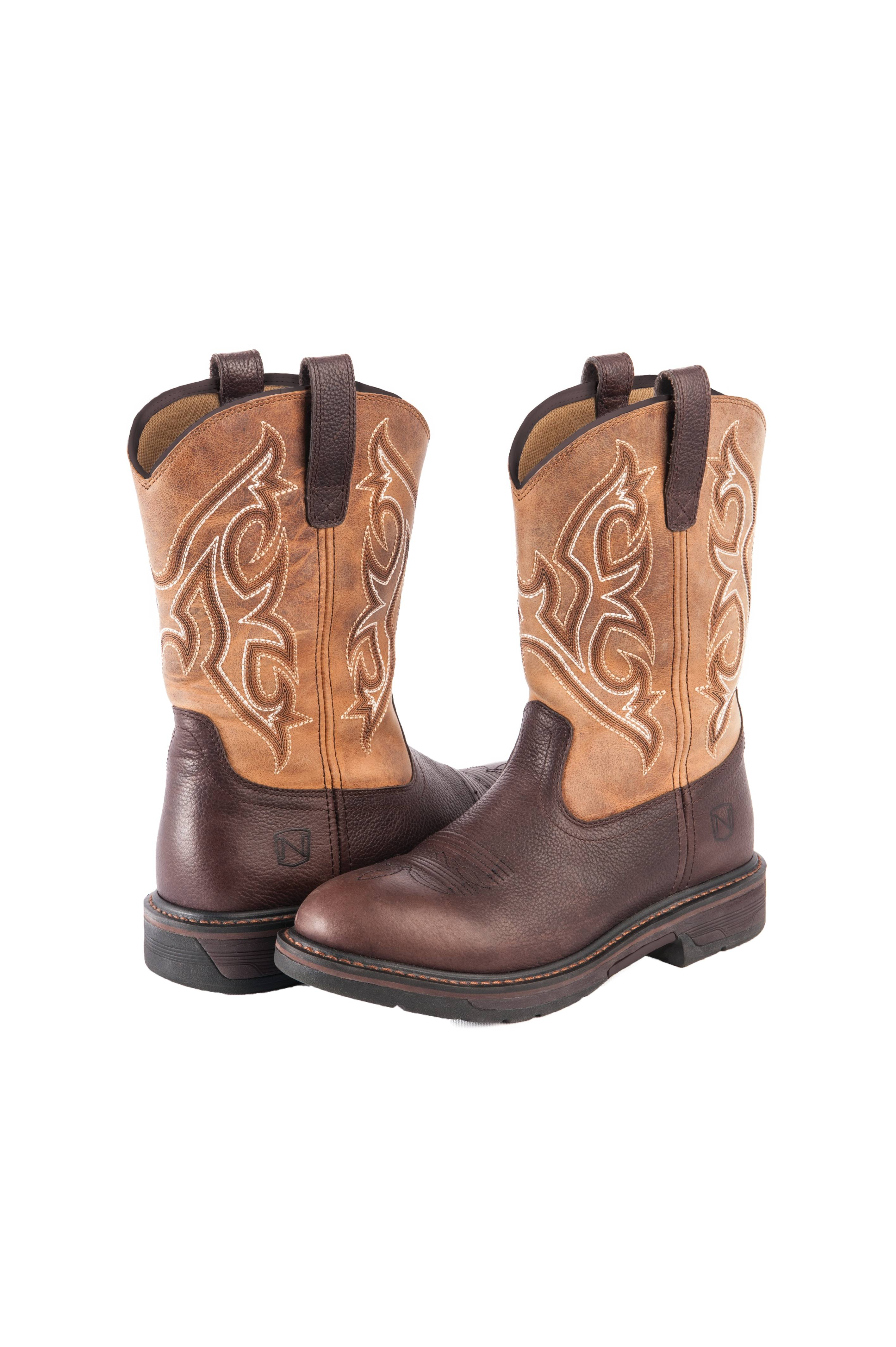 Noble Outfitters Ranch Tough Work Boot Round Toe