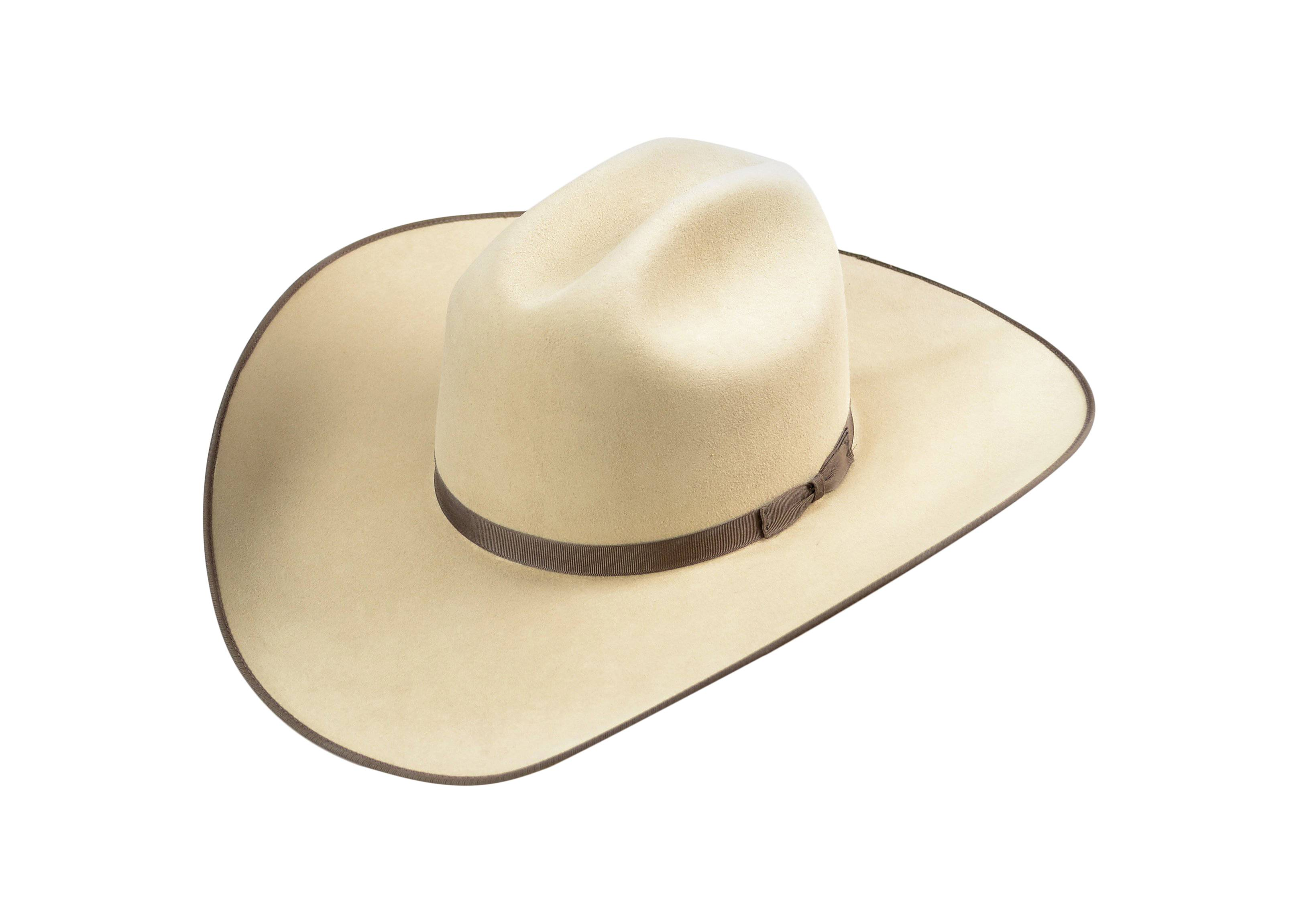 Serratelli 8X Cattleman6 Shovel V Wool Felt Hat - Long Oval