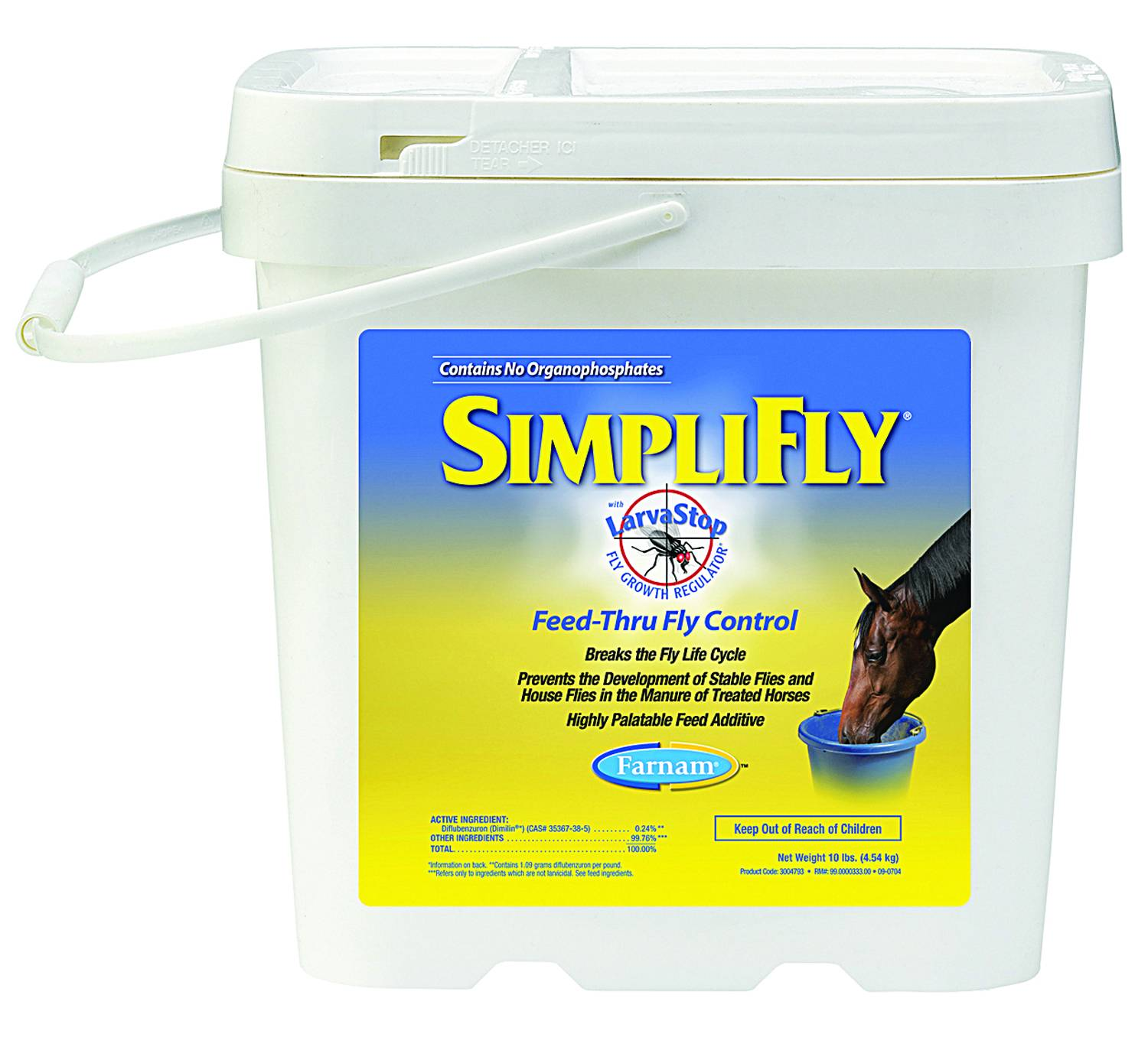 Farnam Simplifly Feed-Thru Fly Control with LarvaStop