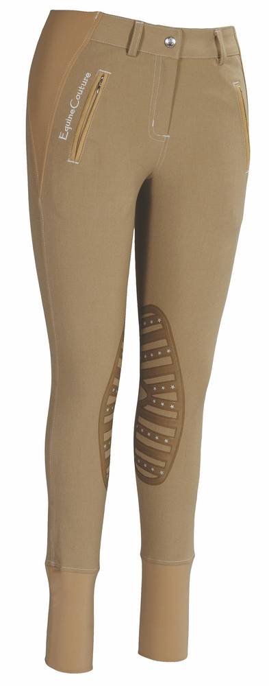 Equine Couture Tynsley Knee Patch Breech Ladies