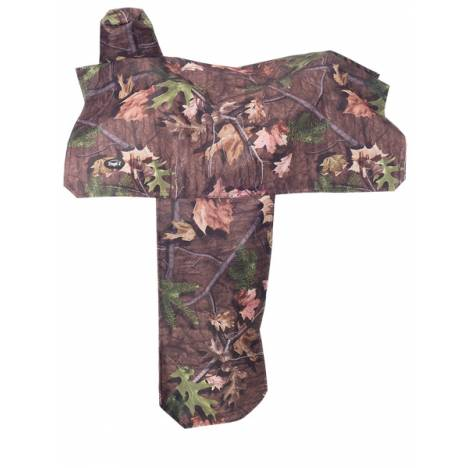 Tough-1 Heavy Denier Nylon Saddle Cover in Prints - Tough Timber