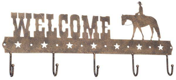 Gift Corral Welcome Sign Hook - Western Pleasure