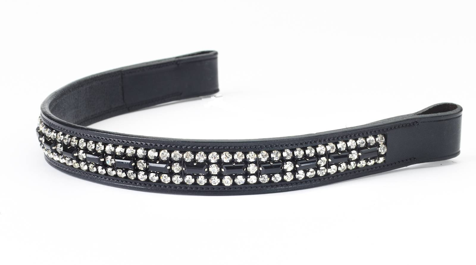 Ovation Crystal & Onyx Browband
