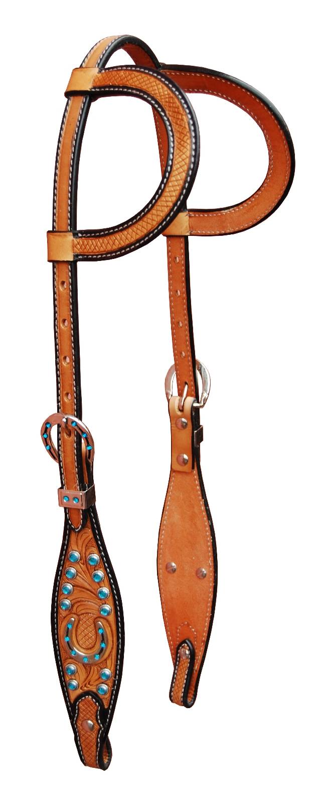 Turn-Two Equine Stampede Double Ear Headstall