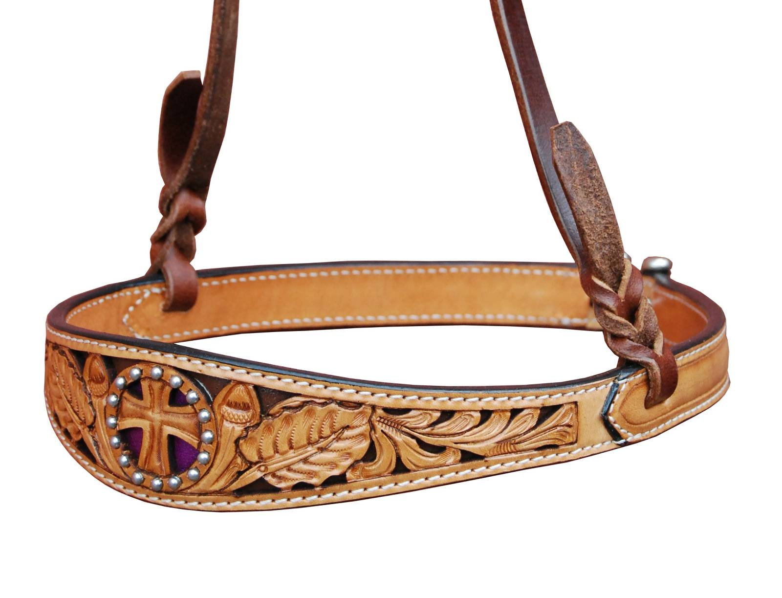 Turn-Two Equine St. Christopher Noseband