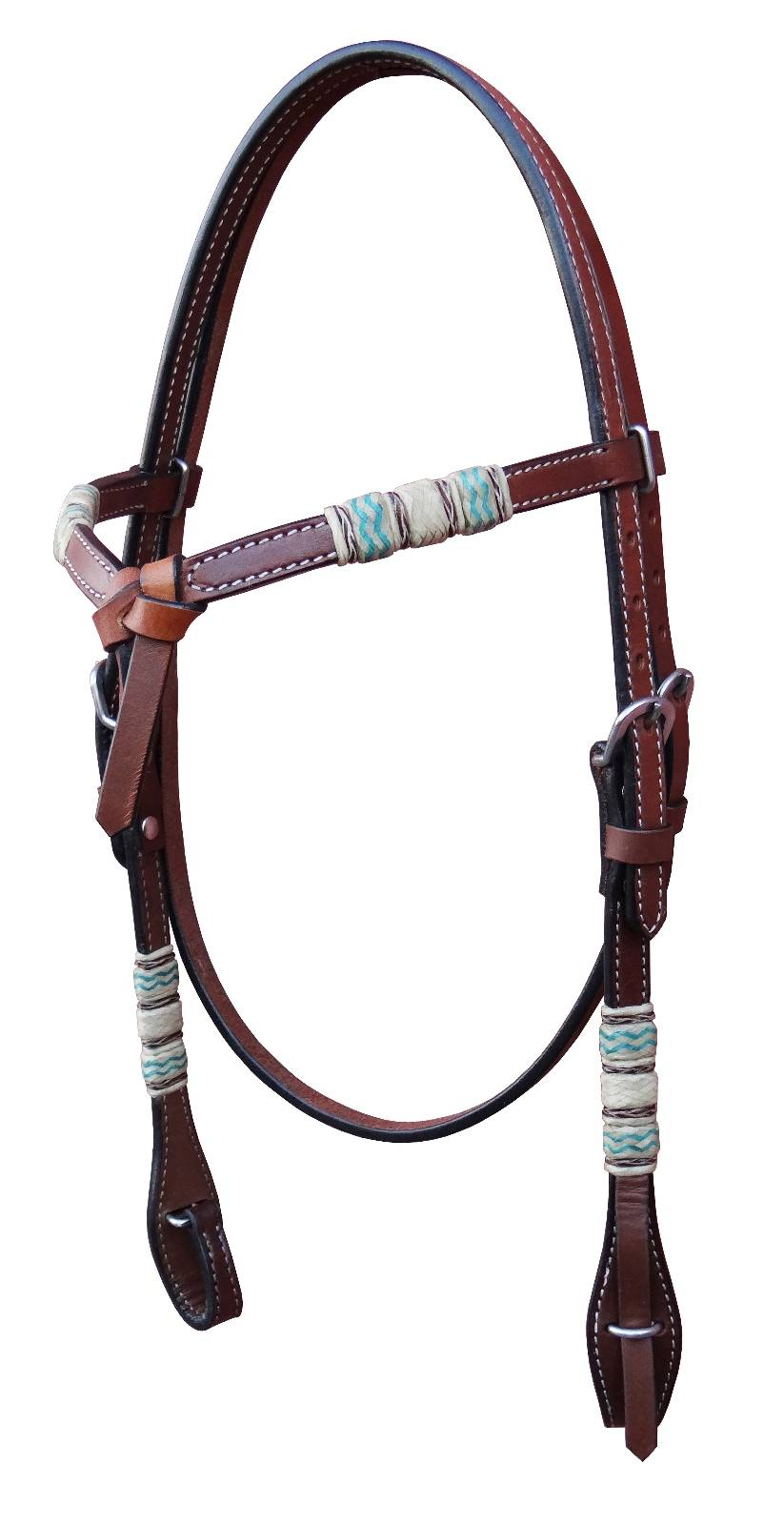 Turn-Two Equine Knotted Headstall Laredo