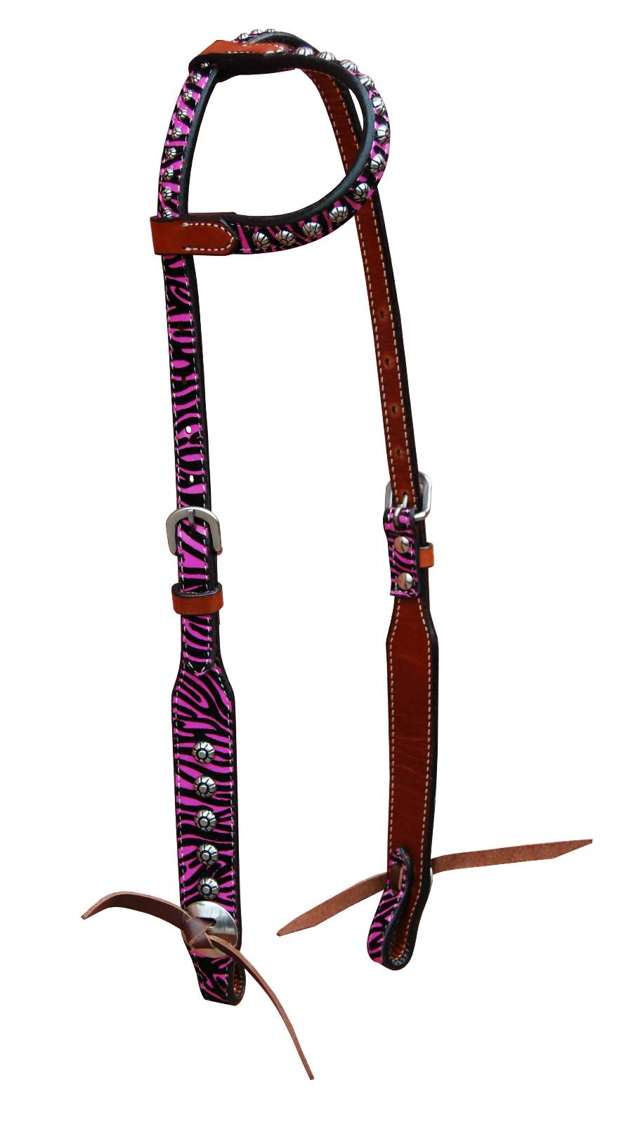 Turn-Two Equine Chasing Wild One Ear Headstall