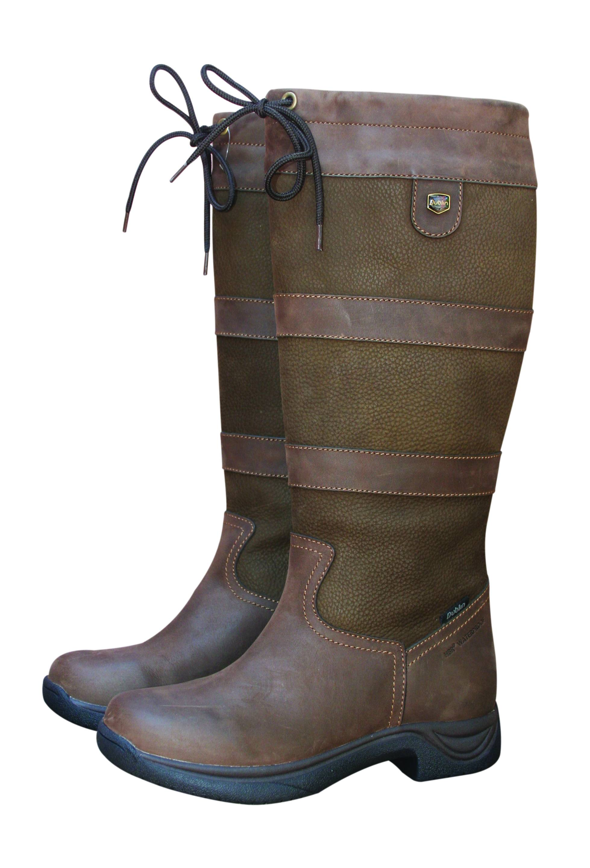 Dublin Wide Calf River Boots