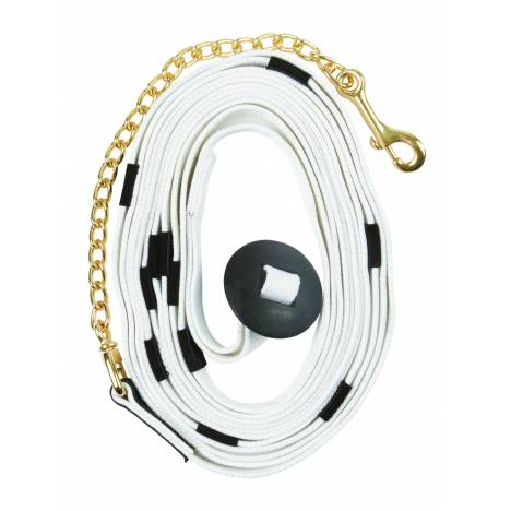 Kincade Cotton Web Lunge Line With Chain And Donut