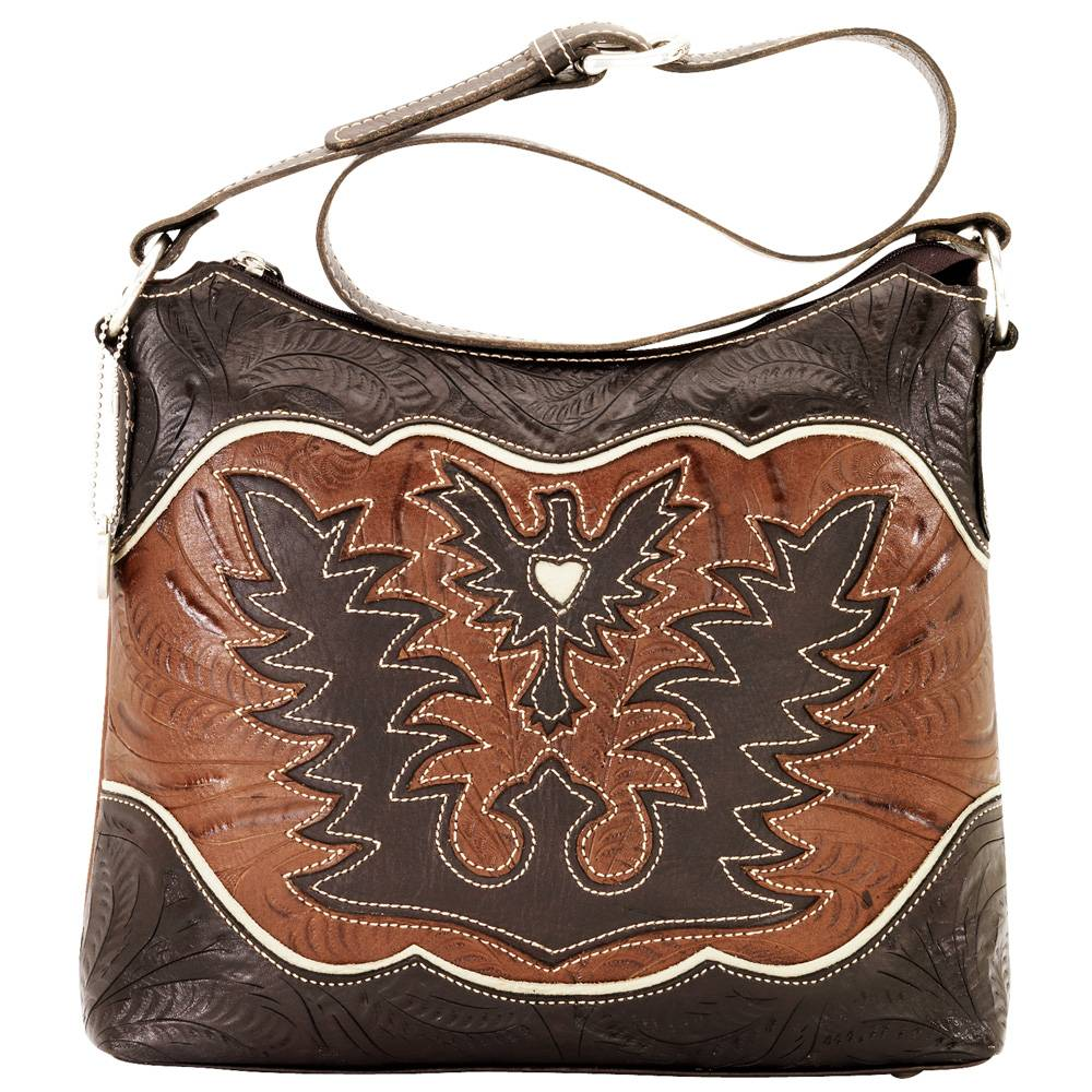 AMERICAN WEST Eagle Heart Folded Clutch