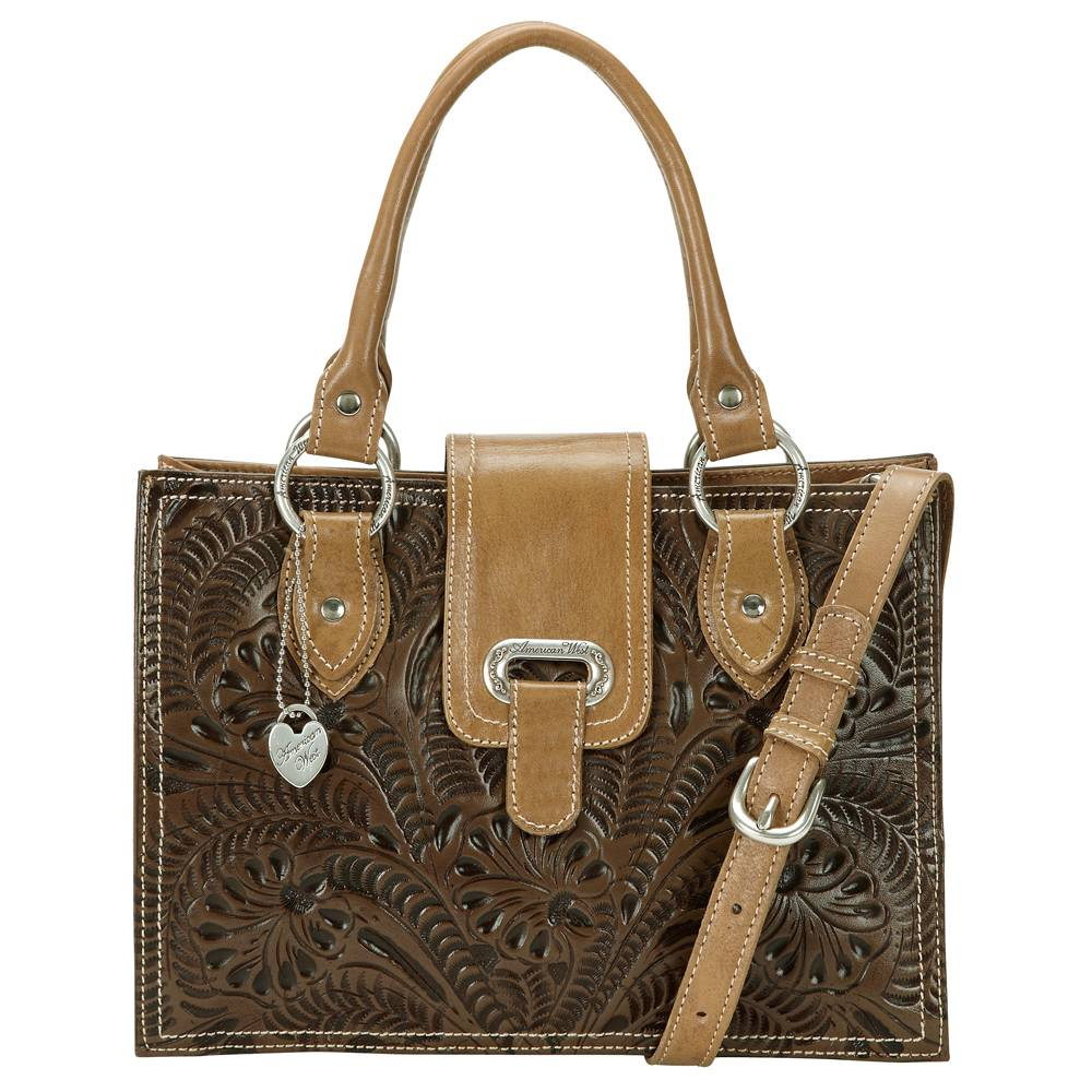 AMERICAN WEST Graciebird Three Compartment Tote