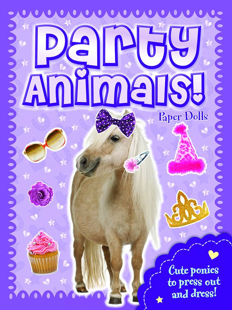 Party Animals Pony Paper Dolls
