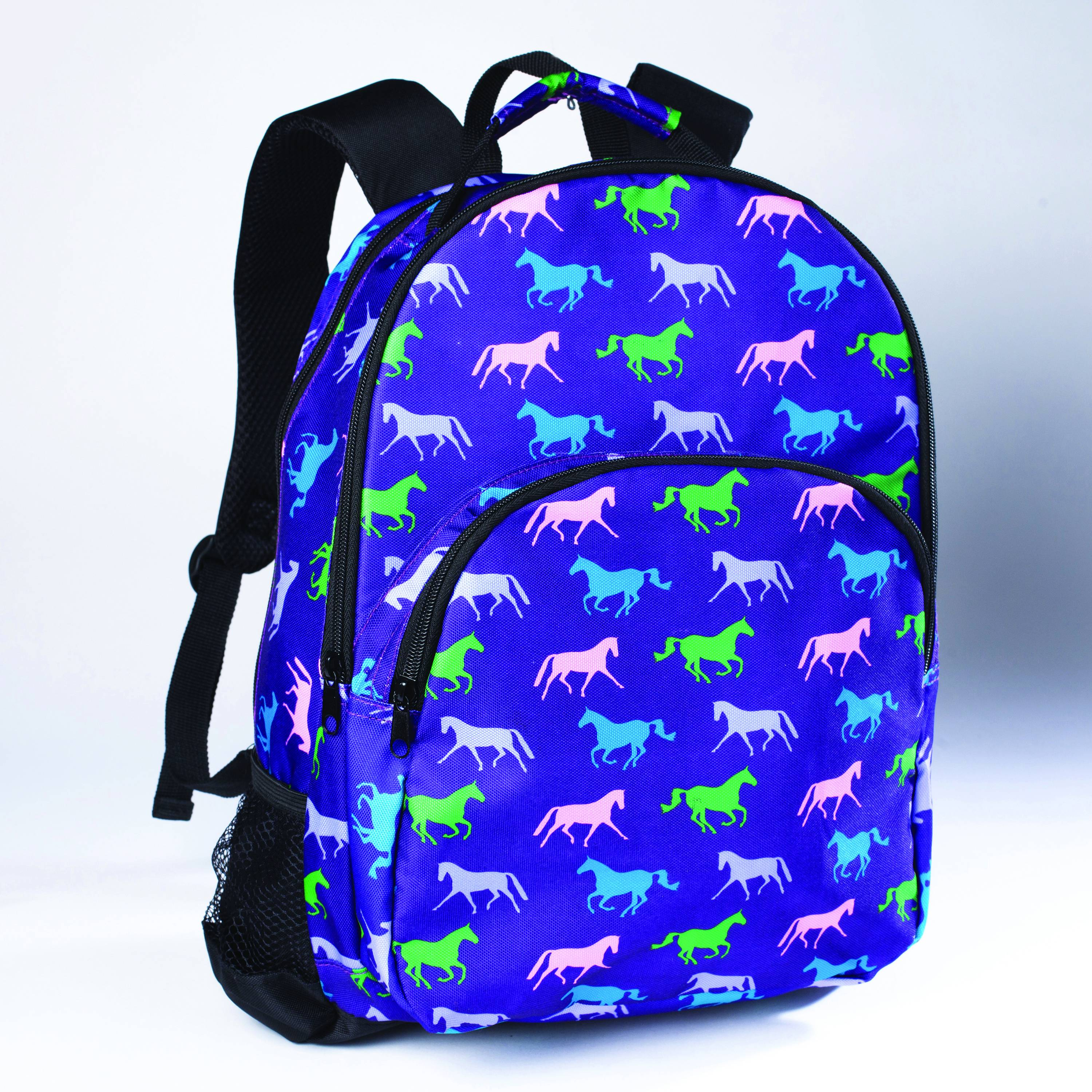 Tek Trek Backpack with Horses