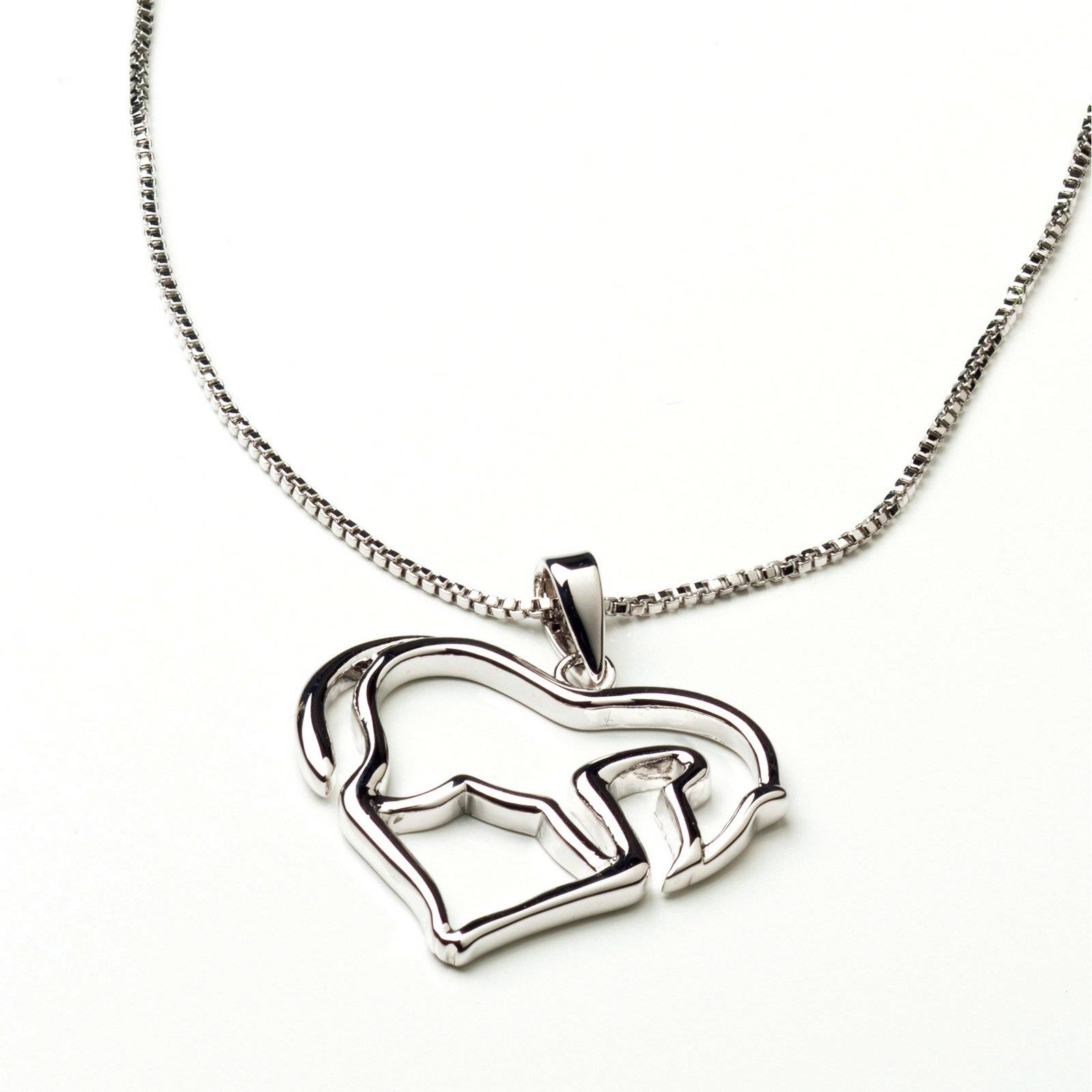 Horse as Heart Necklace