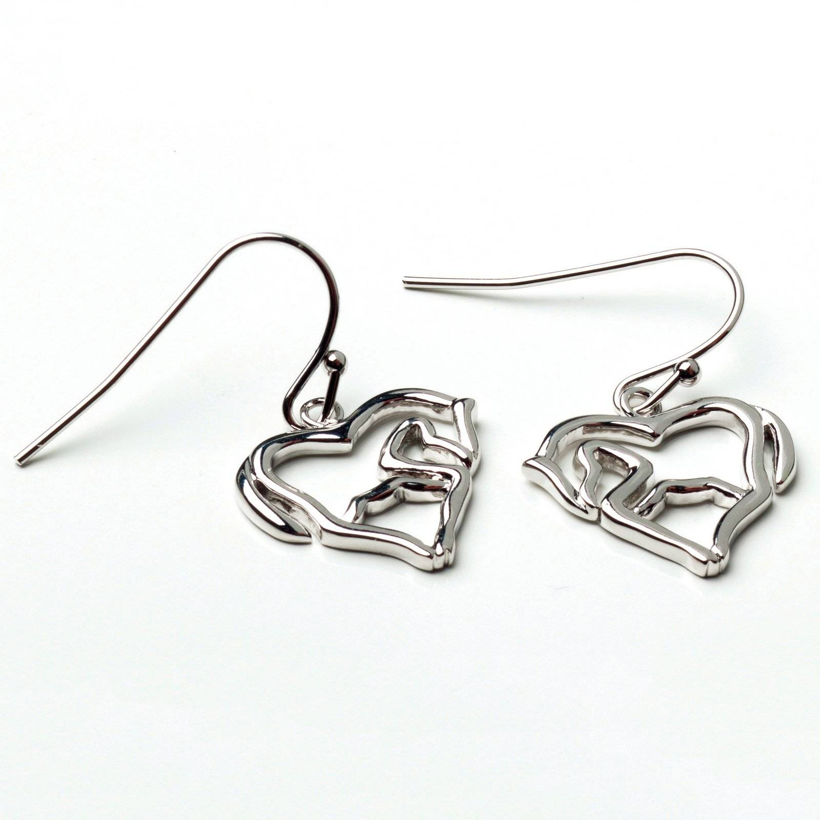 Horse as Heart Earrings