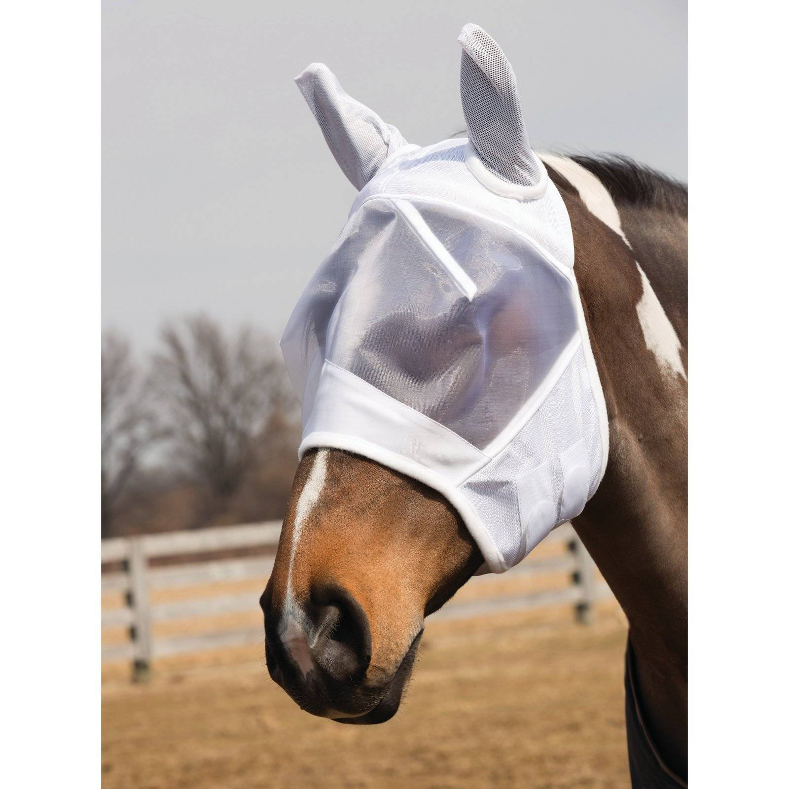 Fleece Lined Fly Mask