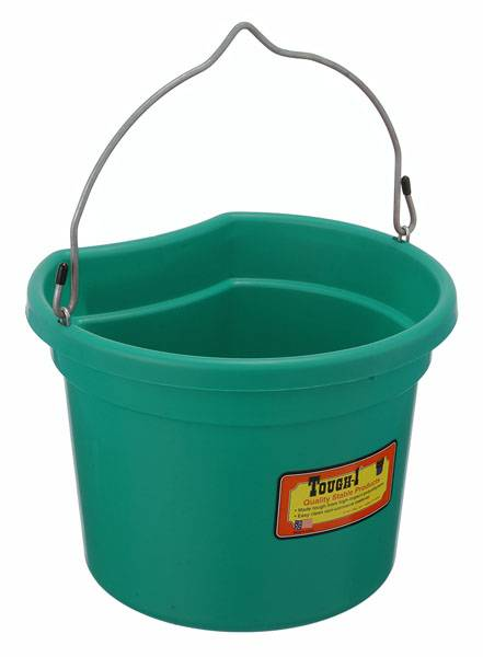 Tough-1 Flat Back Bucket - Pack of 6